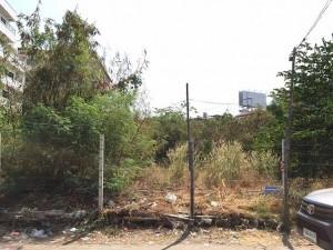 ขายที่ดิน ถมที่ดินเรียบร้อย ซอยติวานนท์ 40 พื้นที่ 358 ตารางวา ราคาถูก