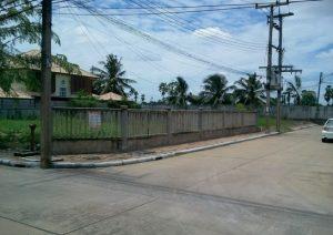 ขายที่ดิน ถนนปทุมธานี-บางคูวัด ขนาดพื้นที่ 104 ตารางวา ถมดินแล้ว ราคาถูก