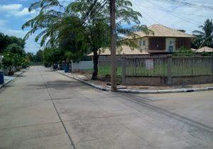 ขายที่ดิน ถมดินแล้ว ขนาดพื้นที่ 104 ตารางวา ถนนปทุมธานี-บางคูวัด ราคาถูก